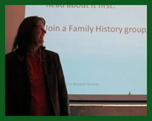 Family history tree research presentations