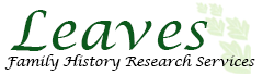 Leaves Family History Research Services Logo