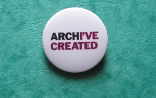Archive created badge