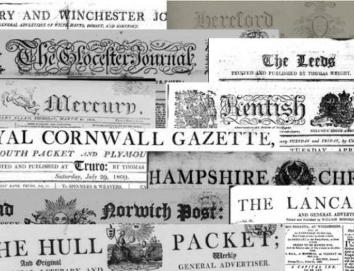 Researching your Ancestors in English Newspapers