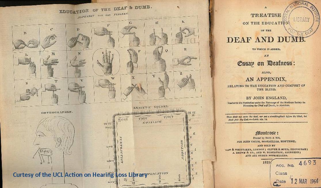 deaf and dumb sign lnguage